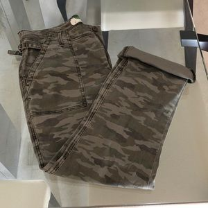 Anthropologie Size 30 Camo Pants